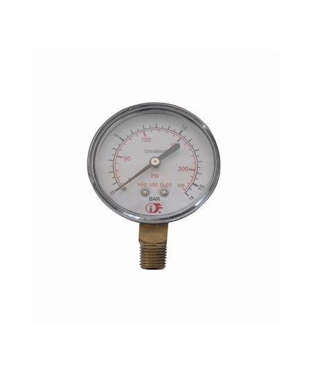 Manômetro N2 / Oxigênio Baixa