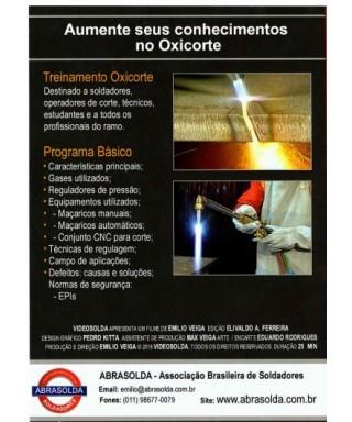 DVD Curso de Solda OXICORTE...