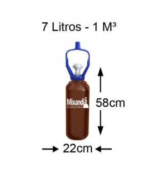 Cilindro de argônio 7 L...