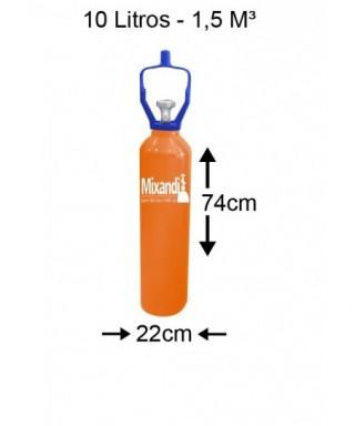 Cilindro de hélio 10 L (2...
