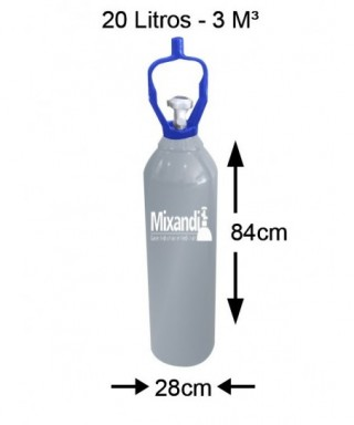 Cilindro de nitrogênio - 20...