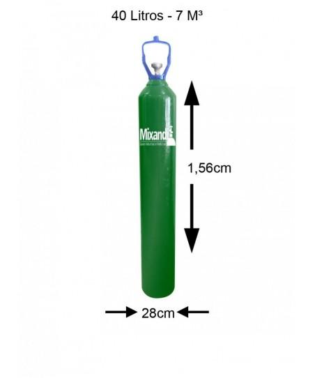 Cilindro de oxigênio...